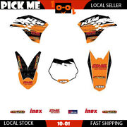 Motorcycle Sticker Decal Kit For Ktm 50 Sx 2009 2010 2011 2012 2013 Graphics Kit