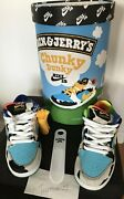 Nike Sb Chunky Dunky Ben And Jerry Fandf Special Box Size 6.5