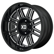 20x9 Xd Series Xd850 Cage Gloss Black Milled Wheels 8x170 0mm Set Of 4