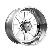 20x12 American Force Independence Ss Polished Wheels 5x5 -33mm Set Of 4