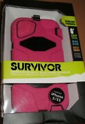 Griffin Survivor Military Duty Case Iphone 5/5s, With Clip, Pink And Black, New