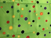 Southseas Fabric Candy Brights Cotton Dot Fabric 1/2 Yard