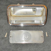 1961-1967 Lincoln Continental Sedan Conv Lh Reverse Back-up Light Housing And Lens