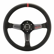 Sparco 015l750pl Steering Wheel Street Series Aluminum Black 3-spoke New
