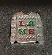 Sold Out Lambcrafted Reindeer Ugly Sweater Christmas Marker Only One On Ebay