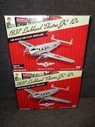 24 Wings Of Texaco 1937 Lockheed 12a Electra Jr Airplane Reg And Special New