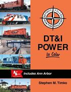 Dtandi Power In Color Detroit, Toledo And Ironton And Ann Arbor - New Book
