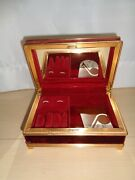 Willitts Music Box Made In Japan Plays You And I Against The World Tune