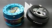 Nrg Steering Wheel Short Hub 2.0 Quick Release Nb For Nissan 240sx S13 S14 300zx