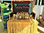 Island Ring Toss Adult Game - Great Fun Empty Liquor Bottles Included