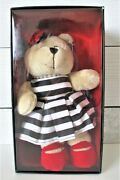 2013 Starbucks Alice And Olivia Holiday Bearista Bear Stacey Bendet Mint In Box