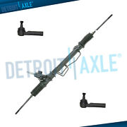 Complete Power Steering Rack And Pinion Outer Tie Rods For Subaru Baja Outback