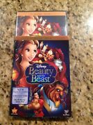 Beauty And The Beast Dvd,2010,2-discnew Authentic Us Disney Release