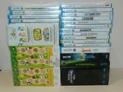 Nintendo Wii U Games New Sealed Fun You Pick And Choose Video Games Lot 5/23
