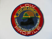 Vintage 1970 Era East Los Angeles County Califonia Sheriff Station Police Patch