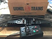 One Pair Lionel No.1122 Non Derailing Switches For 027. 77