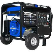 Duromax 10,000-w 18hp Portable Rv Ready Gas Powered Generator W/ Electric Start