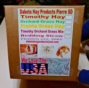 Dakota Hay Pro. Timothy 1st Cut Hay Forage For Rabbits All Pets Get 15 Lbs.