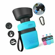 Lesotc Pet Water Bottle For Dogs Dog Water Bottle Foldable Dog Travel Water...