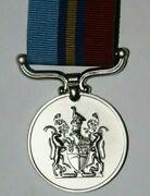 Rhodesian Rhodesia Security Forces Gsm General Service Medal Replacement Full