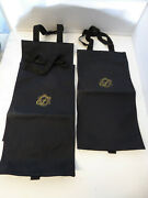 3 Vintage Fairmont Hotel Morning Newspaper Cloth Bags