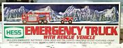 Hess Emergency Truck With Rescue Vehicle - 2005 - Never Opened