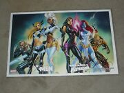 2020 Year Of No Shows Xmen Art Print Signed By J Scott Campbell 11x17