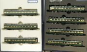 Tomix 92037 +92038 N Gauge Jr Salonwagenzug Naniwa 7-teilig Pc Series 14.700