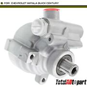 Power Steering Pump W/o Pulley And Reservoir For Chevrolet Impala Buick Century