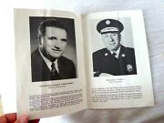 Vintage Booklet 49th Annual Ball San Francisco Ca Fire Department 1959