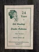 24 Years Of Girl Scouting In Greater Anderson Report 1962 South Carolina Scout