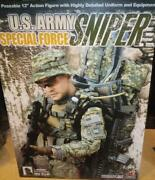 1/6 Scale Hot Toys Us Army Special Forces Sniper Mib