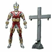 Used Bandai Ultraman A Ultra-act Ace-robot And Planet Of Golgotha Set