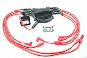 8.5mm Spark Plug Wires Optispark Ii Distributor Cap Coil 96 Buick Cadillac Chevy