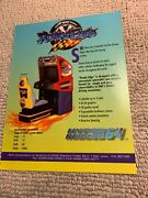 11-8 1/4andrdquo Roads Edge Hyper 64 Neo Geo Arcade Video Game Flyer Ad