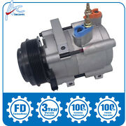 New Ac Compressor 68188 Fit Ford Explorer Mercury Mountaineer V6 4.0l