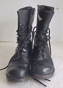 Vietnam Us Army Or Marine Corps Corcoran Black Paratrooper Jump Boots 7 1/2 E