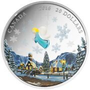 2016 20 1 Oz Fine Silver Coin Murano Glass My Angel Royal Canadian Mint