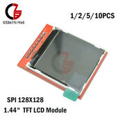 1-10pcs 1.44in Red 128x128 Spi Color Tft Lcd Module Display Replace Nokia 5110