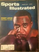 Sports Illustrated February12 1962 Sonny Liston Collector Pilates Vintage Rare