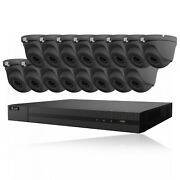 Hikvision Hilook 5mp Cctv System 4ch 8ch 16ch Dvr Dome Camera Home Outdoor Kit