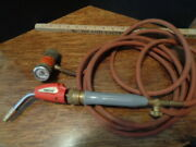 Acetylene Gas Regulator And Turbo Torch With 12' Hose Welding