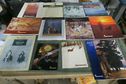 12 Vintage Browniing Catalogs, Papers , Archery 95, Hunting And Shooting Lot C