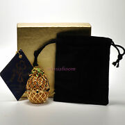 Estee Lauder Pineapple Glaze Compact For Solid Perfume 1997 Extremely Rare