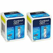 Contour-next Glucose Test Strips 100 Count. Exp 1/2023- Fast Shipping