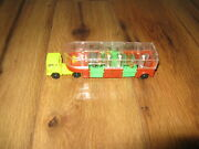 Vintage Toy Truck Tractor Trailer Zoo Animals Cirus Plastic Hong Kong Rare Dome