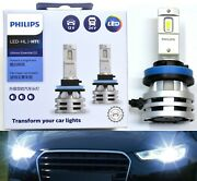 Philips Ultinon Led G2 6500k White H11 Two Bulbs Fog Light Replacement Upgrade