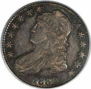 1830 50c Small 0 Capped Bust Half Dollar Pcgs Au58 Cac