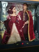 Disney Store Snow White And The 7 Dwarfs And Platinum Limited Edition Dolls