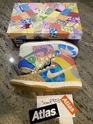 What The Dunk Thomas Campbell Nike Sb Rare Special Box Only 100 Made Size 12 Ds